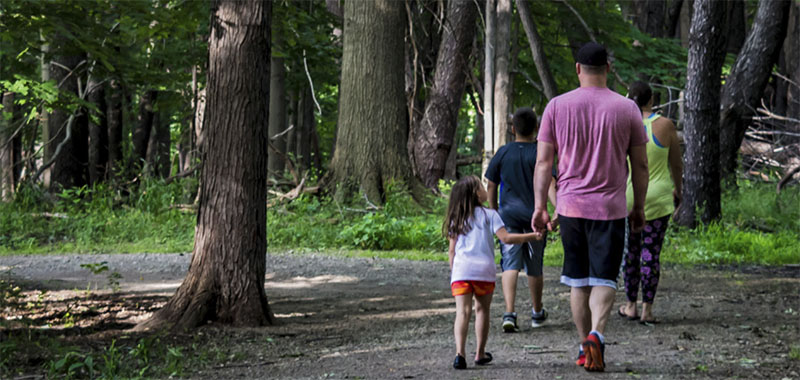 Family at a Lake Metroparks